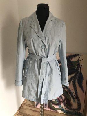 Cecilia Classics Trench Coat azure cotton