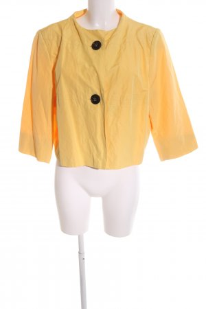 Chicc Short Jacket light orange casual look