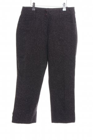 Chicc Jersey Pants black flecked casual look