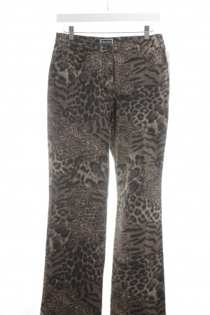 Chicc Straight-Leg Jeans Leomuster Casual-Look