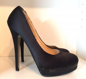 Chice Platou Pumps in Satin