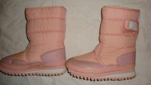 Chice rosafarbene Schneestiefel