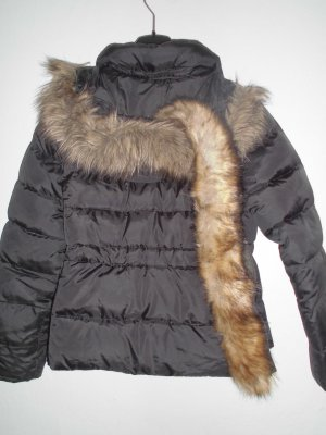 Chice schwarze Daunenjacke Lands End