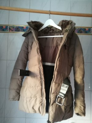 Chice Winterjacke taupe