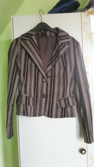 Short Blazer multicolored cotton