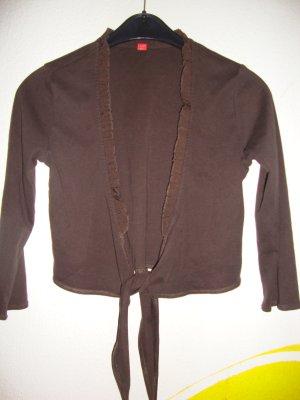 Esprit Bolero bronze-colored cotton