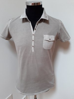 Marc O'Polo Polo Shirt sand brown cotton