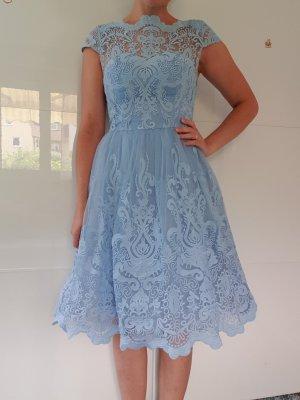 Chi Chi London Lace Dress azure