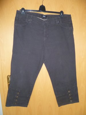 Rosner Jeans a 3/4 marrone Cotone