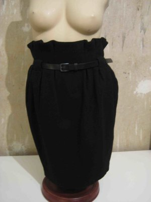 H&M Tulip Skirt black wool