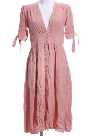 Chicwish Shortsleeve Dress apricot Boho look