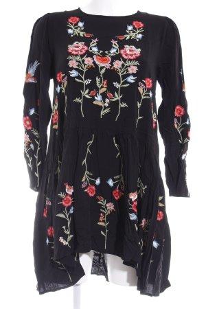 Chicwish Langarmkleid florales Muster Romantik-Look