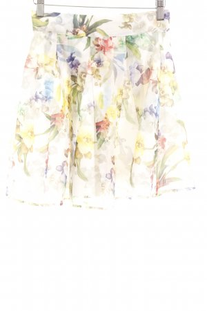 Chicwish Minirock Allover-Druck Romantik-Look