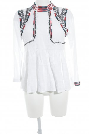 Chicwish Tunikabluse Aztekenmuster Casual-Look