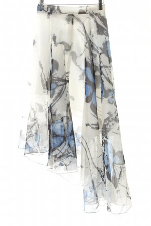 Chicwish Flounce Skirt themed print extravagant style
