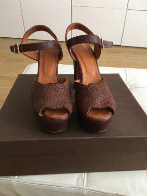 Chie Mihara devenue Sandale Gr. 40,5 butterweiches Leder