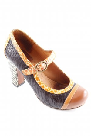 Chie Mihara Mary Jane Pumps Mustermix 20ies-Stil