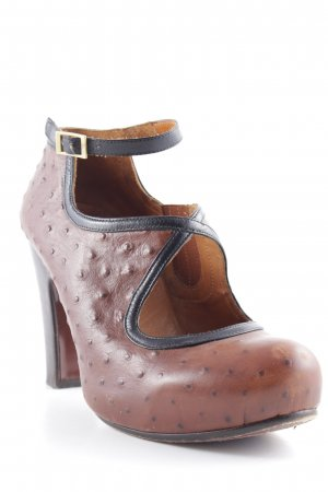 Chie Mihara Plateau-Pumps Punktemuster Casual-Look