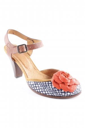 Chie Mihara Strapped pumps abstract pattern elegant