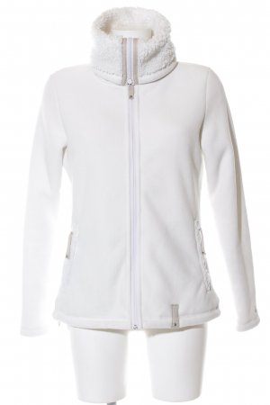 Chiemsee Fleecejacke weiß Casual-Look