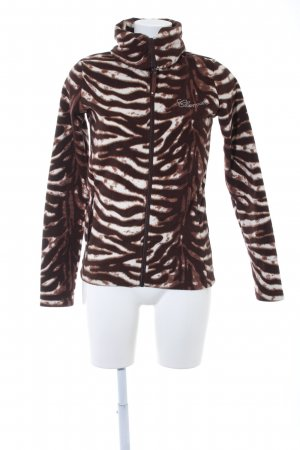 Chiemsee Chaqueta de forro polar estampado de animales look casual