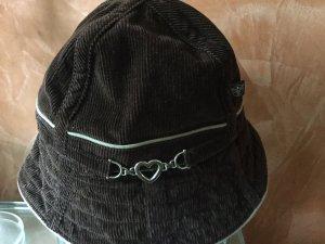 Chiemsee Sombrero de cubo marrón oscuro