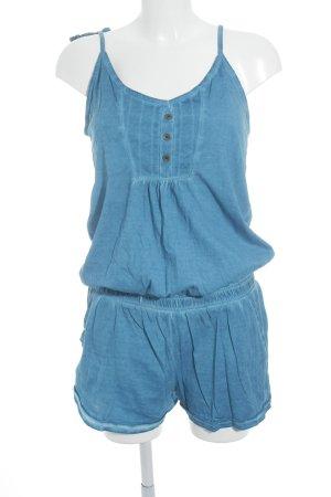 Chiemsee Jumpsuit kornblumenblau Batikmuster Casual-Look