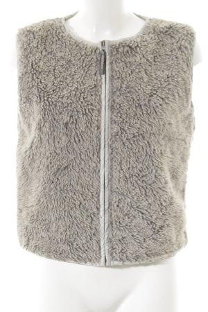 Chiemsee Vest van imitatiebont veelkleurig casual uitstraling