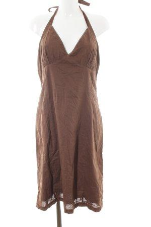 Chiemsee Halter Dress brown casual look