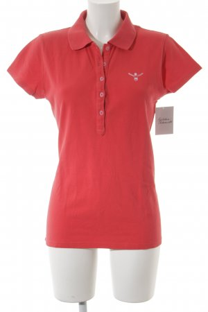 Chiemsee Polo-Shirt rot Casual-Look