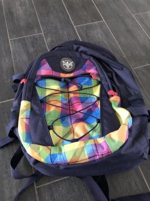 Chiemsee School Backpack dark blue