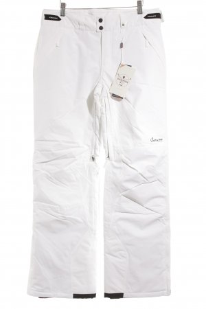 Chiemsee Snow Pants white-black athletic style