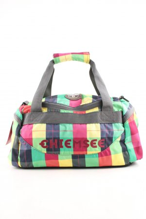 Chiemsee Sports Bag check pattern casual look