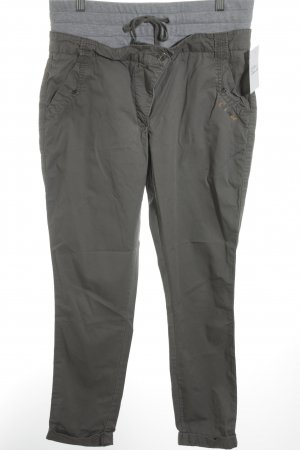 Chiemsee Pantalone jersey grigio-verde stile casual