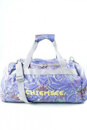 Chiemsee Canvas Bag floral pattern athletic style