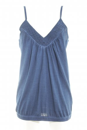 Chiemsee Tanktop blau Beach-Look