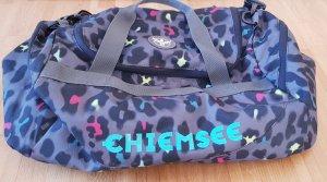 Chiemsee Sac de sport gris clair-bleu clair