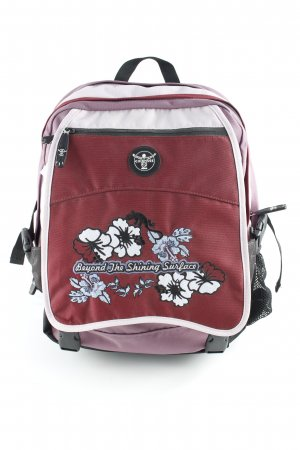 Chiemsee Trekking Backpack floral pattern casual look