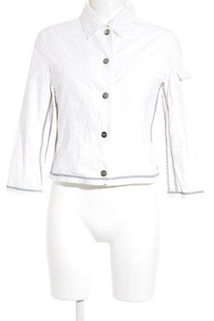 Chiemsee Übergangsjacke weiß-grau Street-Fashion-Look