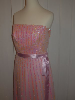 Sequin Dress multicolored polyester
