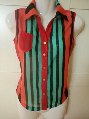 100% Fashion Blouse multicolored polyester