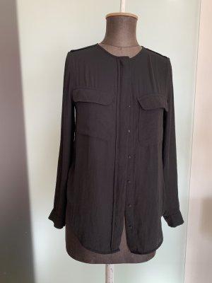 Chiffon Bluse Tunika Gr 34 36 XS /S von H&M