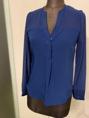 H&M Long Blouse blue-russet