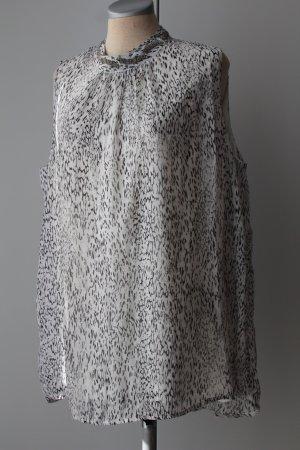 Camicetta lunga bianco-nero