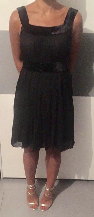Zara Robe chiffon noir