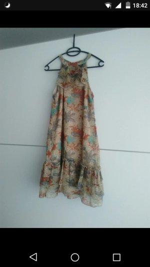 Vero Moda Off-The-Shoulder Dress multicolored