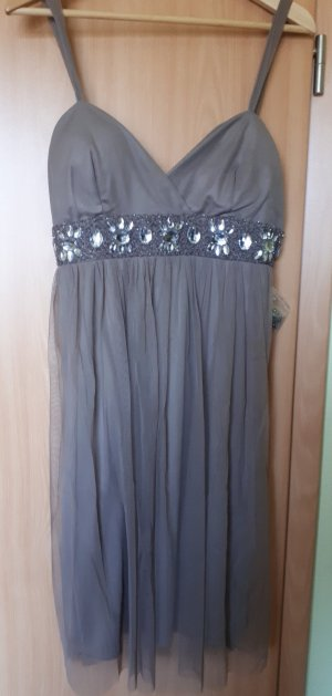 Ball Dress grey brown