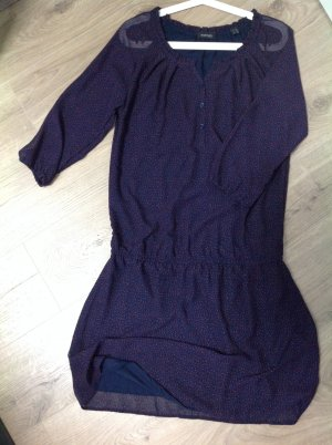 Chiffon Kleid mit 3/4 Arm