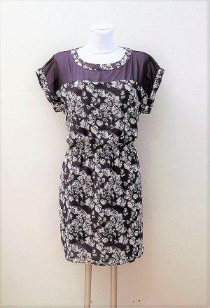 Chiffon-Kleid mit Blümchen