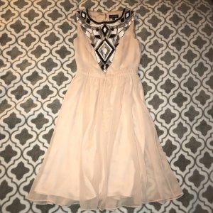 Chiffon-Kleid mit Palette